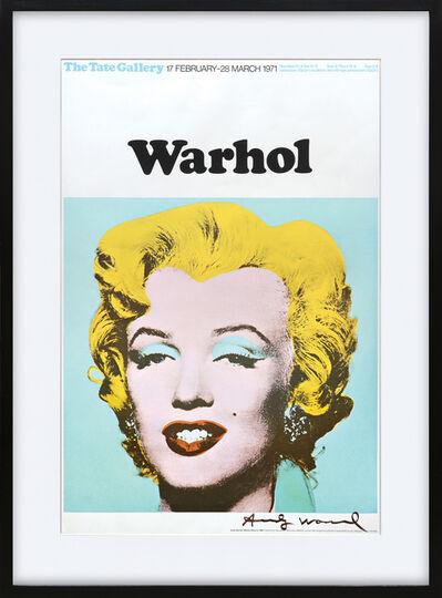 Andy Warhol, 'Marilyn Monroe, Tate Gallery Poster.', 1971