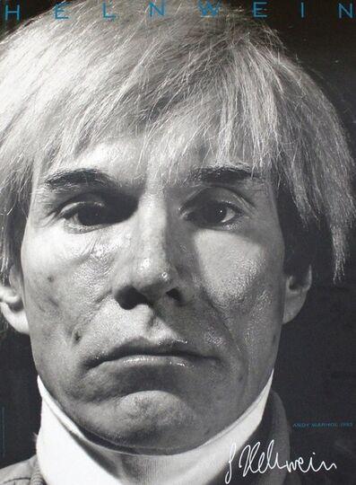 Gottfried Helnwein, 'Andy Warhol', 1990