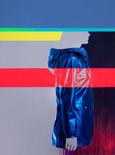 Sebastián Riffo Montenegro, 'Blue', 2018