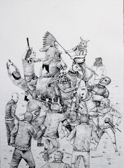 Saner, 'Pelea por ser presidente', 2014