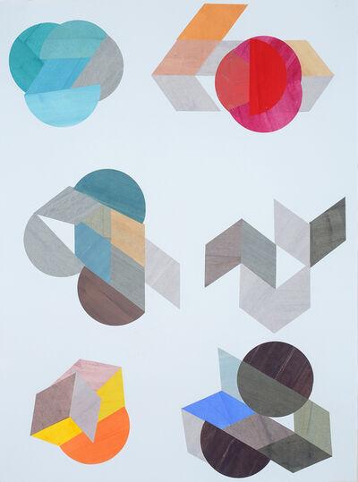 Lori Glavin, 'Six Shapes ', 2018