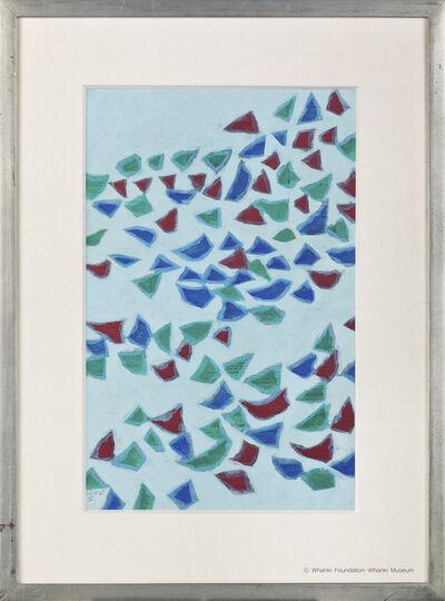 Kim Whanki, '25-Ⅰ-68 Ⅱ', 1968