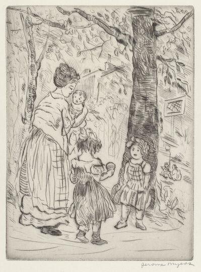 Jerome Myers, 'Springtime', ca. 1919