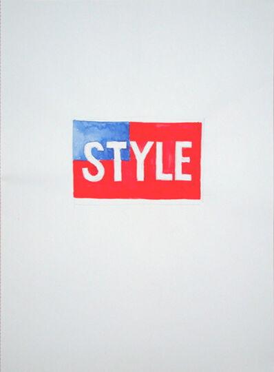 Ian Anüll, 'Style', 1995