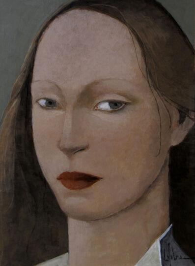 Pierre Lefebvre, 'Femme, collet blanc'