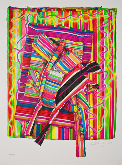 Marta Minujin, 'Escalando al infinito', 2014