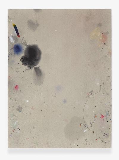 Amanda Ross-Ho, 'Untitled Dropcloth Painting (CAT DANCER 3)'