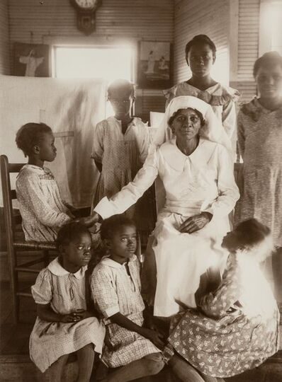 Eudora Welty, 'Sunday School, Holiness Church, Jackson, Mississippi', 1939