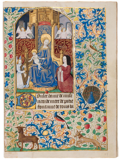 Workshop of the Master of the Echevinage de Rouen, 'Dupont Book of Hours', 1470-1480