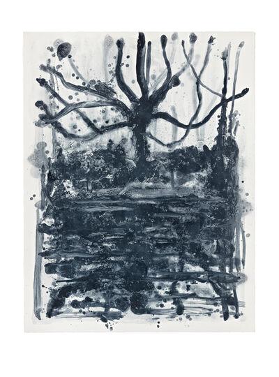 Shinro Ohtake, 'Indigo Forest 13', 2015