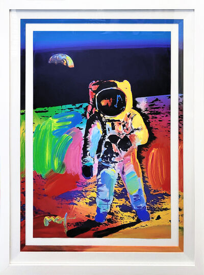 Peter Max, 'WALKING ON THE MOON #28', 2009