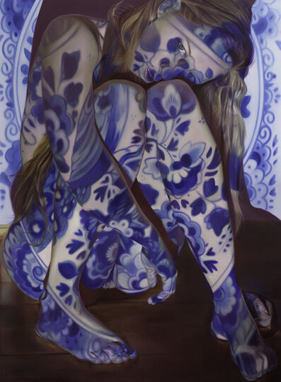 Jen Mann, 'I don't feel blue, I feel Delft blue', 2017