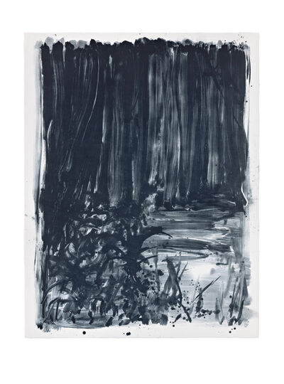 Shinro Ohtake, 'Indigo Forest 8', 2015