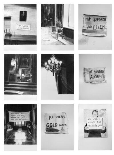 Jana Gunstheimer, 'series Stammsitz: Ich werde nichts tun und brutal sein (Rimbaud)', 2005