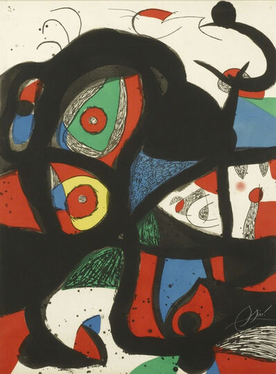 Joan Miró, 'Gargantua (D. 972)', 1977