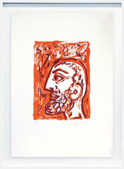 A.R. Penck, 'Philosoph (Selbst)', 1994