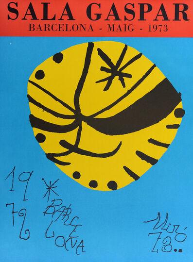 Joan Miró, 'Sala Gaspar', 1972