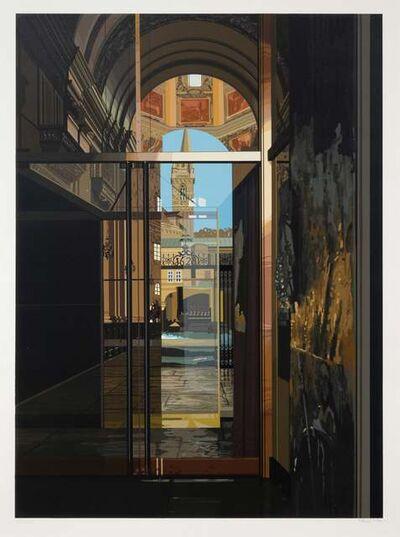 Richard Estes, 'Salzburg Cathedral', 1983