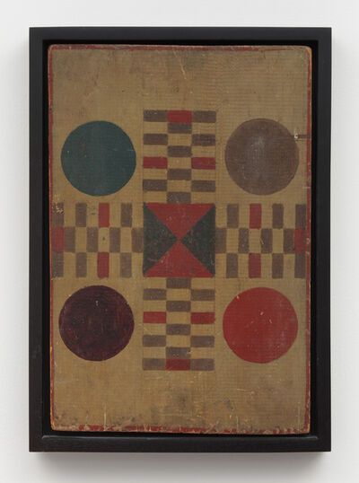Unknown Artist, 'Parcheesi Variation Game Board ', Late 19th -early 20th century