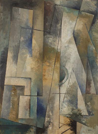 Youla CHAPOVAL, 'Composition bleue', 1948