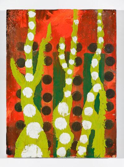 Chris Martin, 'Untitled (Pennies)'