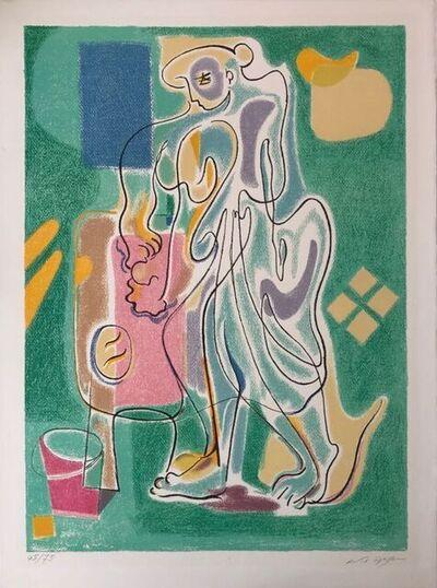 André Masson, 'La fabrication du pain ', ca. 1965