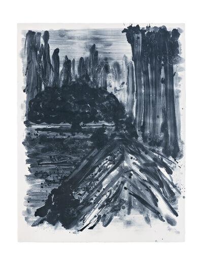 Shinro Ohtake, 'Indigo Forest 7', 2015