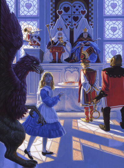 Greg Hildebrandt, 'Trial of Knave of Hearts', 1990
