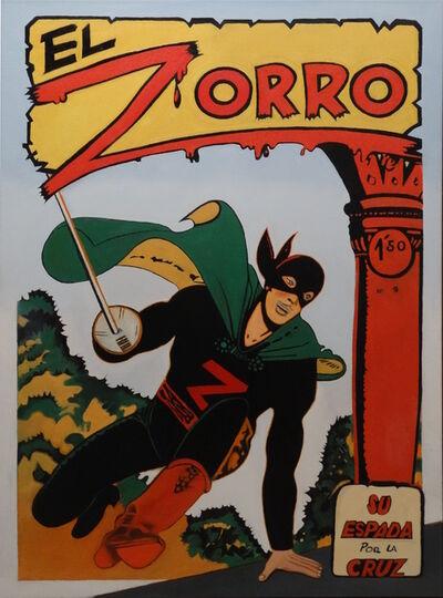 Mel Ramos, 'El Zorro', 2017
