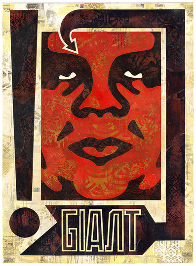 Shepard Fairey, 'Exclamation', 2018