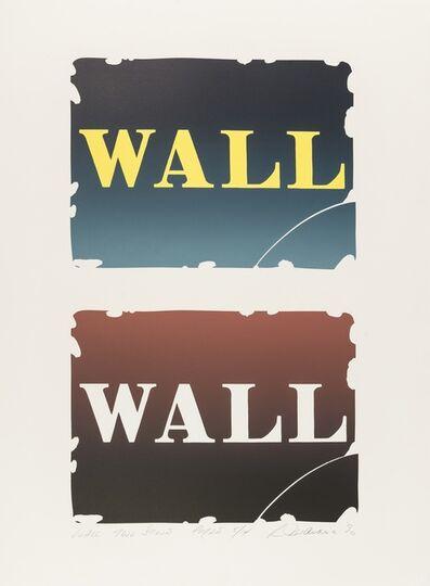 Robert Indiana, 'Wall: Two Stone (See Sheehan 141)', 1990