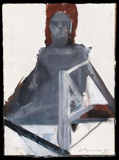 Nathan Joseph Roderick Oliveira, 'Seated Figure #39', 1975