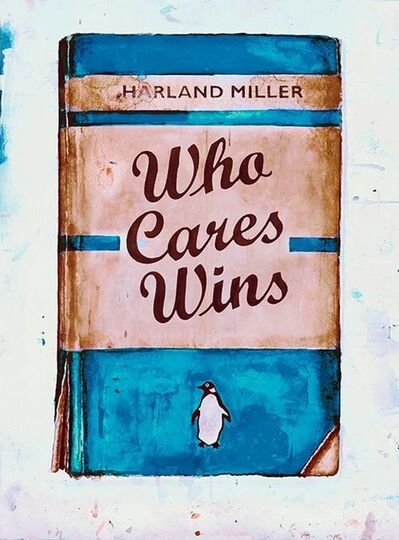 Harland Miller, 'Who Cares Wins (NHS)', 2020