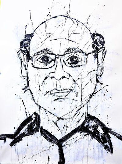 Franck de las Mercedes, 'Alazurda Portrait of Carlos Fernando Chamorro', 2019