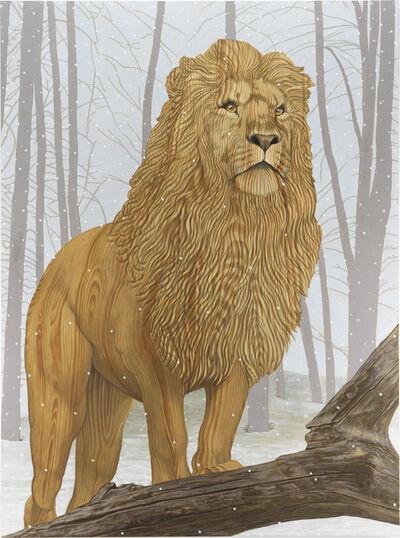 Sean Landers, 'Lion in Winter', 2019