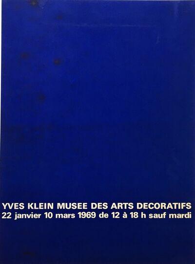 Yves Klein, 'Exposition au Musée des Arts Décoratifs', 1969