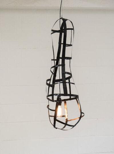 "Jacques Jarrige, 'Suspension in weaved steel by Jacques Jarrige ""Pod""', 2007"