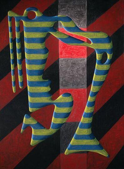 Peter Schuyff, 'Self Portrait', 1984