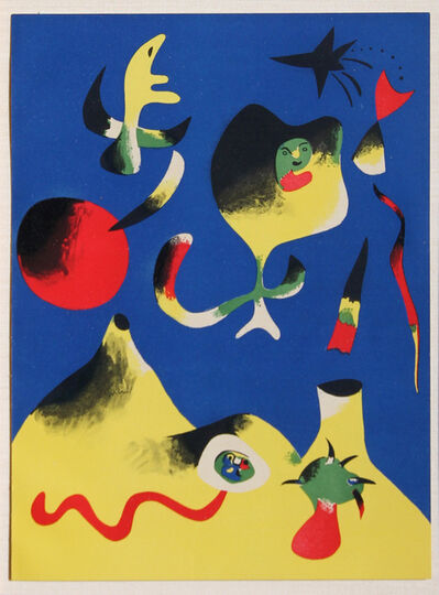 Joan Miró, 'Air from Verve Magazine Vol. #1', 1937