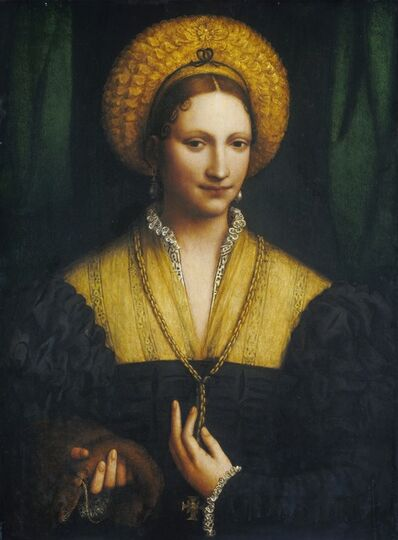 Bernardino Luini, 'Portrait of a Lady', 1520/1525
