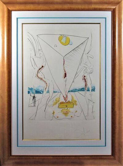 Salvador Dalí, 'Philosophe Ecrasé par le Cosmos', 1974