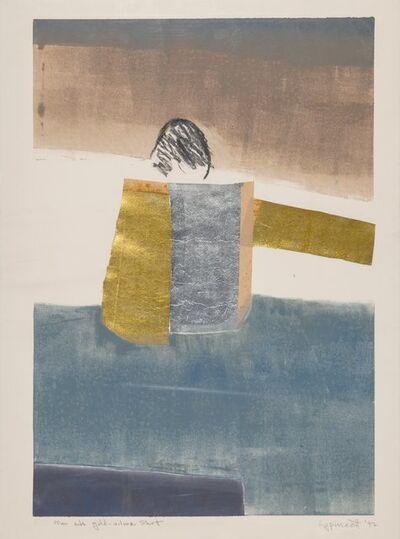 Janet Lippincott, 'Man with Gold-Silver Shirt', 1992