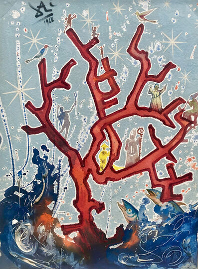 Salvador Dalí, 'Coral', 1966