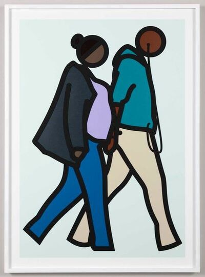 Julian Opie, 'New York Couple (6)', 2019