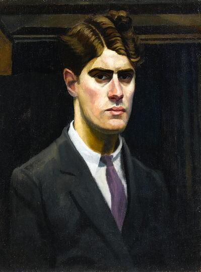 Richard Carline, 'Self-portrait', 1923