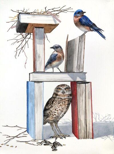 Thomas Broadbent, 'Book Burrow', 2018