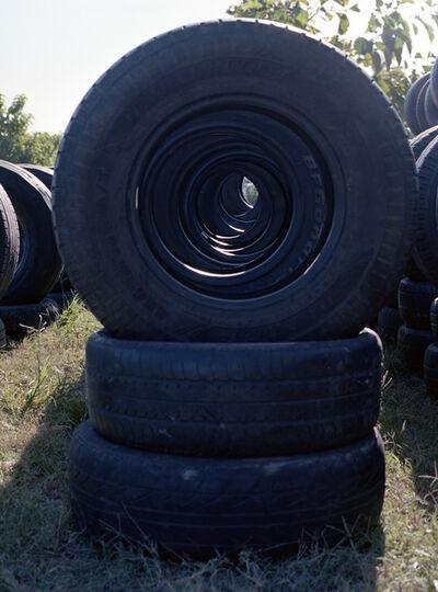 João Maria Gusmão & Pedro Paiva, 'More tyres', 2013