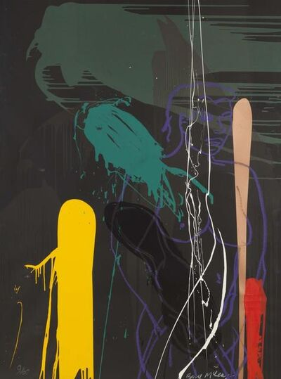 Bruce McLean, 'Vertical Dusk', 1991