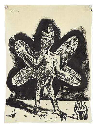 Damien Deroubaix, 'Sans Titre (Pazuzu)', 2020