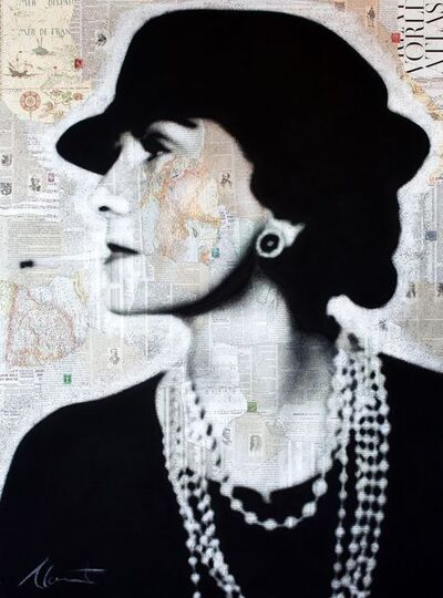 André Monet, 'Coco Chanel ', 2014